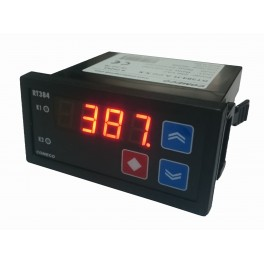 Controller, RT384- H.A.CC, power supply 230 VAC, 2 relay outputs, control algorithm PID, universal input