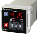 2-time universal timer CT03, 0 ... 99.9 s, 999 s or 999 min, 230 VAC