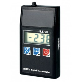 Handheld thermometer, H5700-BG, single-channel, power supply 3 V from 2 batteries AA 1.5 V, input Pt1000