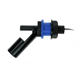 Float level switch for side mounting, LCSFS1, 1 reed switch, process connection M16x1.5, polypropylene