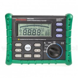 MS2302 - Digital Earth Resistance Tester, 0.01 Ohm - 4000 Ohm, MASTECH