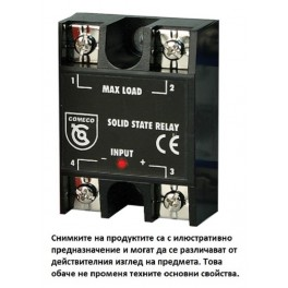 Solid state relay, SSRP40-A, single-phase, nominal current 40 A, input 230 VAC, operating voltage up to 275 VAC