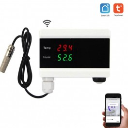 WiFi smart Industrial temperature and humidity sensor, data logger
