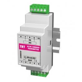AC-DC current transmitter TRT, 0 ... 5A, 4 ... 20 mA, 8 ... 32 VDC, for DIN rail
