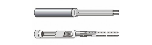 HCC stainless steel cartridge heaters